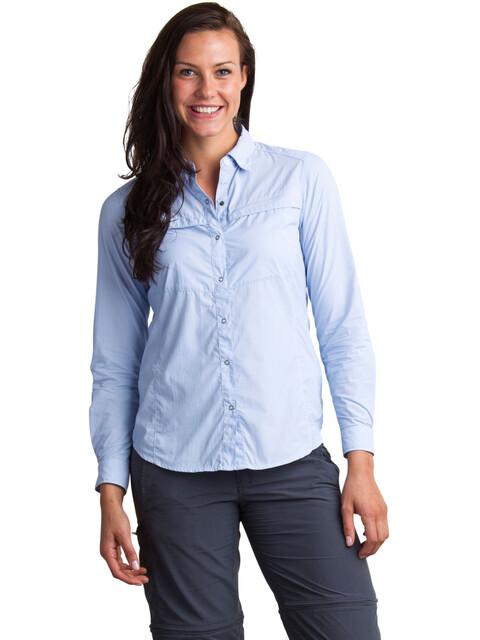 ExOfficio BugsAway Halo Stripe longsleeve Dames blauw